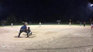 Things end all tied up between Beverly Bandits DeMarini Dorsey and Sparks Softball