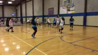 SA Lady Hoops 2024 victorious over Waco United 2024, 46-26