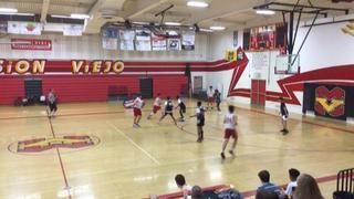 Roosevelt with a win over Mission Viejo, 60-58