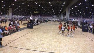 Red Storm 14s Black (LA) takes Summit 14 Orange Elite (IN) to the woodshed in 2-0 shutout victory