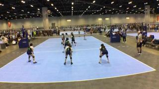 Team Indiana Elite 122 (IN) wins 2-1 over Texas Boom 12s (TX)