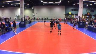 Things end all tied up between LBVC 15s Black and City Beach Black 15-1