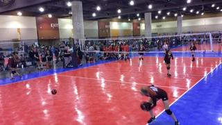 Momentous 14-Joel (SC) (14) vs  So Cal Spikers - Blue (78) at The