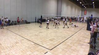 Kokoro Volleyball 16-2 (MN) wins 2-1 over Ignite 16 Adidas (LA)
