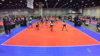 Cape Coral Fear Volleyball (FL) defeats Elite Performance Academy 16s (TX), 2-0