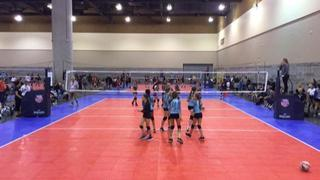 BCVC 12 Smack (SC) (28) wins 2-1 over San Clemente 12 Black (SC) (40)