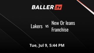 Things end all tied up between Lakers and New Or leans Franchise