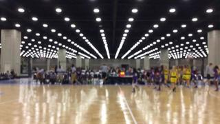 Nebraska Lasers National Gold with a win over Essence Xtreme, 55-28