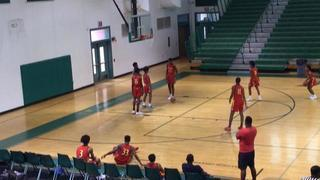 Team Thrill getting it done in win over St. Louis Eagles (13u), 54-31