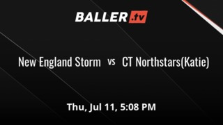 New England Storm triumphant over CT Northstars(Katie), 74-47