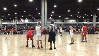 Wisconsin Sharks with a win over W.R. Express 16-U, 71-35