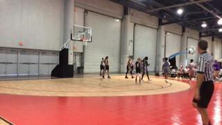 SoCal Blaze Black wins 44-42 over Prodigy Basketball Adidas S.G. - L. Johnson
