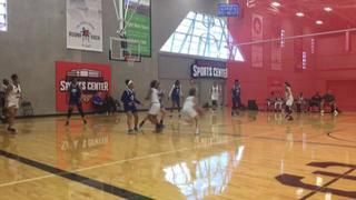 CyFair Premier National with a win over Colorado Hawks, 64-36