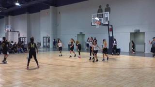 Ambush victorious over SoCal-Elite Girls 5th/6th Grade Black, 40-24