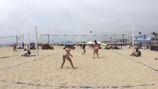 Abigail Converse / Kate Fitzgerald wins 0-0 over Susie Lloyd / Sara Olsson