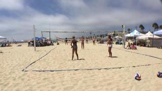 Drew Wright / Julia Capps picks up the 0-0 win against Kaley Mathews / Hannah Fleming