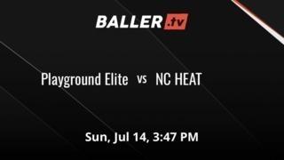 Playground Elite picks up the 68-61 win against NC HEAT