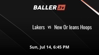 It's a wash between Lakers and New Or leans Hoops