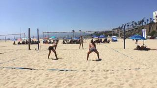 Serena Ramirez / Elise Guerrand-Hermes emerges victorious in matchup against Ashley Johnson / Ava Cole, 0-0