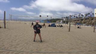 Ella Schmidt / Alexandra Anderson defeats Emily Poland / Kyleigh Noble, 1-0