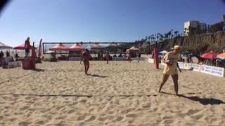 Ainsley Radell / Elizabeth Waters-leiga defeats Allanis Navas / Maria Gonzalez, 1-0