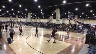 Fairfax Stars (Showcase) emerges victorious in matchup against Empire (Chris 2021), 43-26