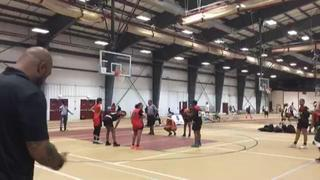 CT Heat - Holmes getting it done in win over NE Rivals - CT, 40-37