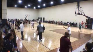 Bay State Jaguars (National Martinez/Lamb) with a win over MCW Starz ( Tiffany), 54-34