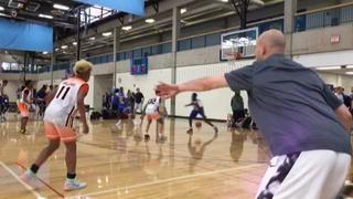 Chicago Demons (18) defeats Hoops 4 Health 15U (47), 50-44