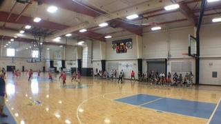 Ohlde Elite (Pink 2023) with a win over Ohlde Elite (Yellow 2022), 41-38
