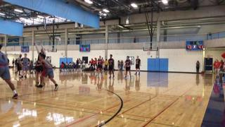 Team Future 2022 (11) triumphant over North Dakota Phenom - National (54), 48-47