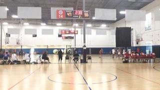 Salt Lake Bounce (19) gets the victory over West Coast Flight (14), 61-49