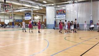 KC Stars with a win over Martin Brothers (12u), 62-24