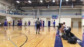 South Dakota Venom Fisher (10) defeats Minnesota Comets (15), 56-49