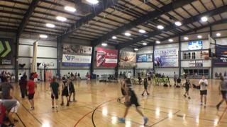 QUINN ANVILS (KY) victorious over YOUNG KINGS (IN), 61-44