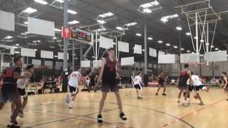 Team Prep (17) victorious over California Select Red (21), 61-57
