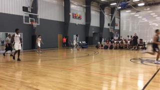 West Texas Blazers Jones (14) gets the victory over Team FOE White (62), 58-42