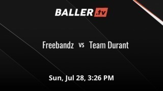 Freebandz vs Team Durant