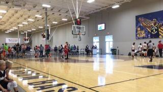 Indiana Red Storm- Curry emerges victorious in matchup against DistinXion 2021- Red, 57-54