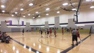 OK Swarm Team Kanter gets the victory over Triumph Maroon, 56-54