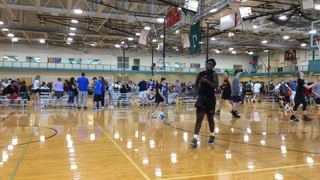 WI City Hoops Select (WI) getting it done in win over Champ Sports Team United (MI), 53-46