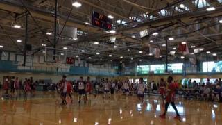 Baltimore Rockets (MD) with a win over World Class Basketball (IL), 55-44