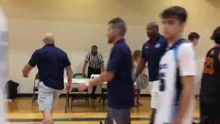Midwest Wildcats 2022 Blue (IL) steps up for 64-33 win over Guelph Gryphons Randell (ON)
