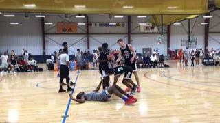 Belmont Shore (CA) getting it done in win over Team Parsons 17 2020 (FL), 78-69
