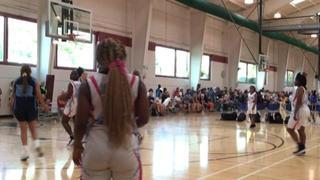 Midwest Wildcats 2020 Carolina (IL) wins 40-39 over Chicago Lady Rebelz (IL)