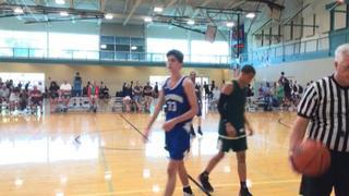 WI Playmakers - Strasser (WI) getting it done in win over Hidden Athletes (MN), 56-47