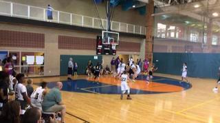 Iowa Pump n Run Basketball (IA) defeats Team Focus 2025 Black (IN), 45-27