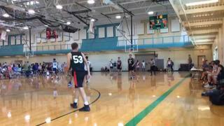 East Troy Hoops Club (WI) emerges victorious in matchup against Midwest Wildcats 2020 Blue (IL), 84-82