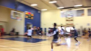 Team Black picks up the 91-70 win against Team White