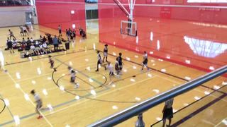 Team Relentless with a win over PSO Athletics, 57-39